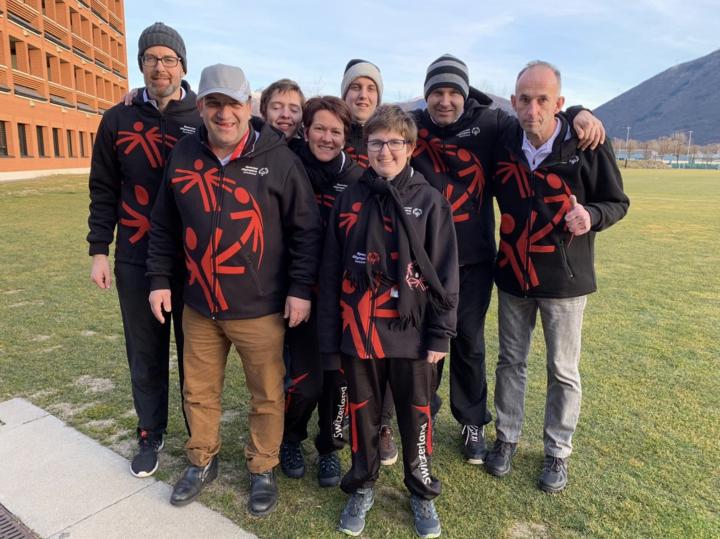 Week-end de préparation du Team Switzerland de Spécial Olympics à Tenero